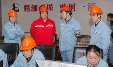 油田领导到公司进行节前安全检查